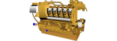 Gas engine oils